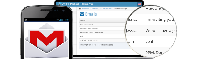 Email Spy - Email Tracking and Spying absolutely Invisible | AndroidMonitor